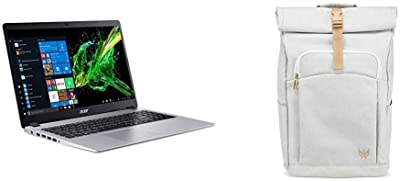 Acer Aspire 5 Slim Laptop with White Backpack