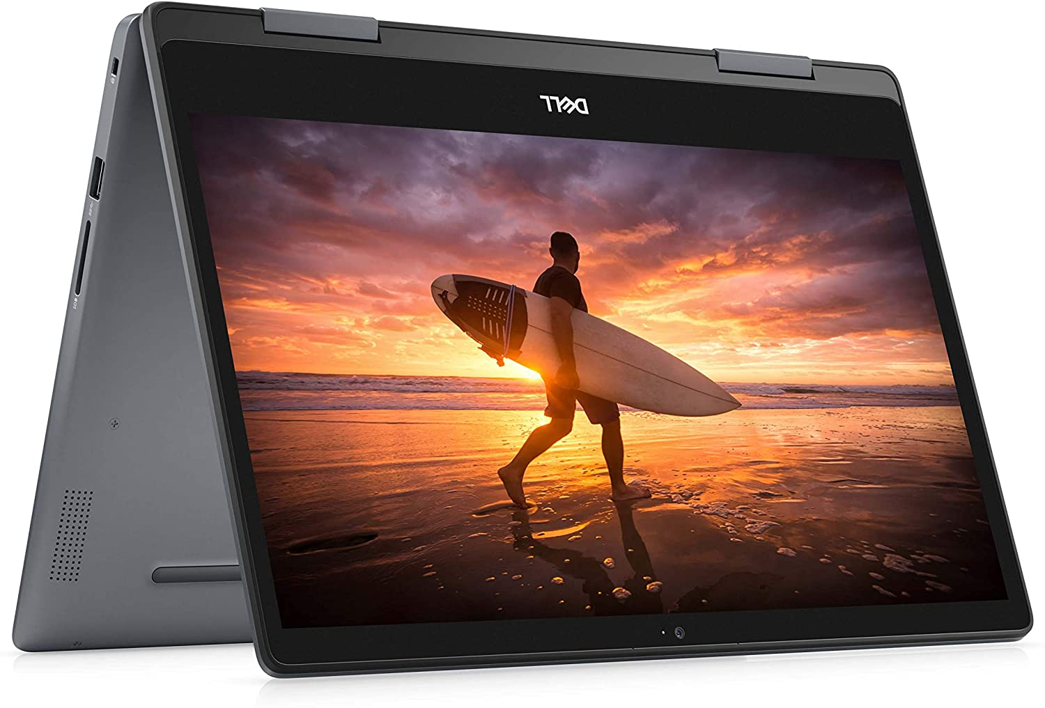 Dell Inspiron 14 Inch 2 in 1 Convertible Touchscreen Laptop 1