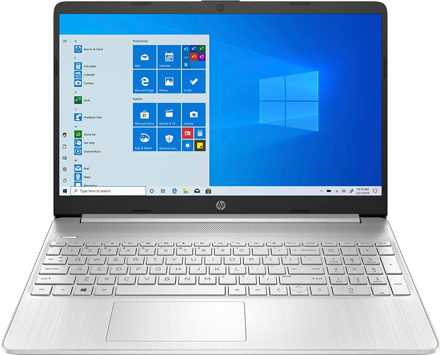 HP 15.6 Inch Touchscreen i7 Laptop Computer 1