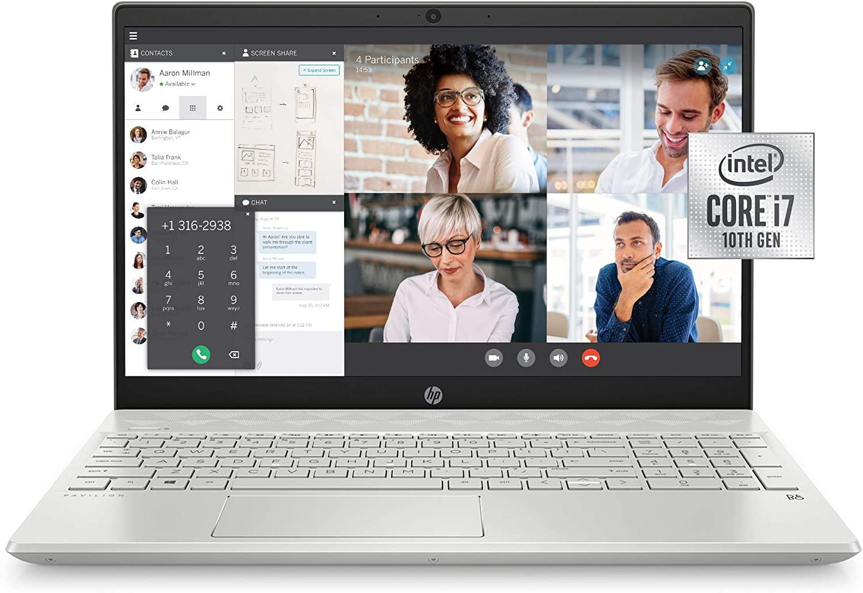HP 15 cs3019nr Pavilion Intel Core i7 Laptop 1