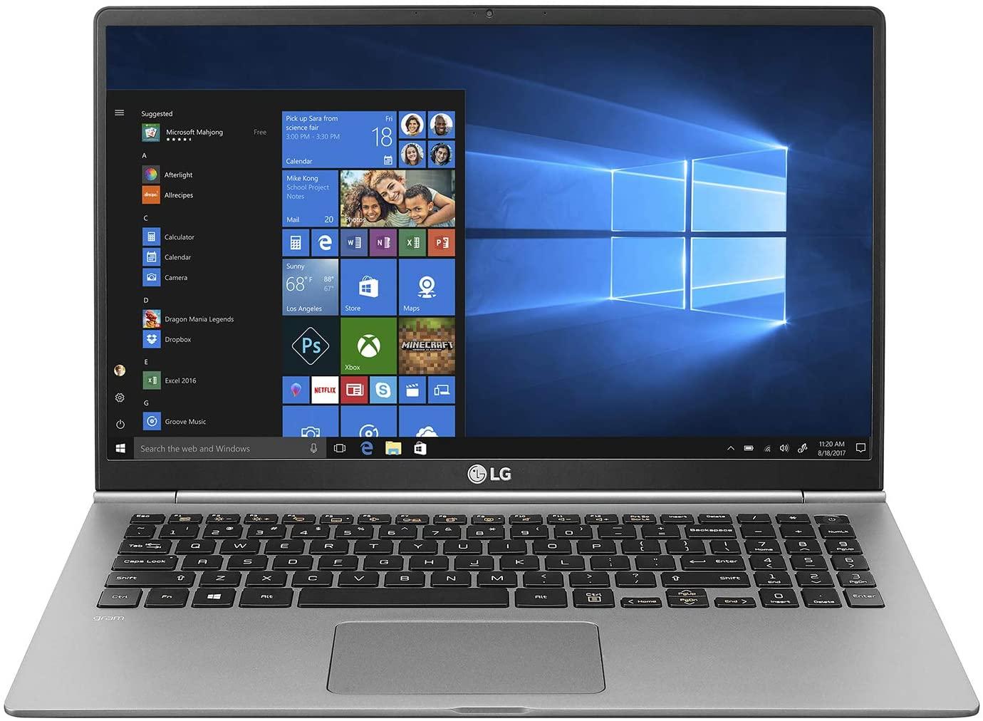 LG gram 15.6 Inch Laptop