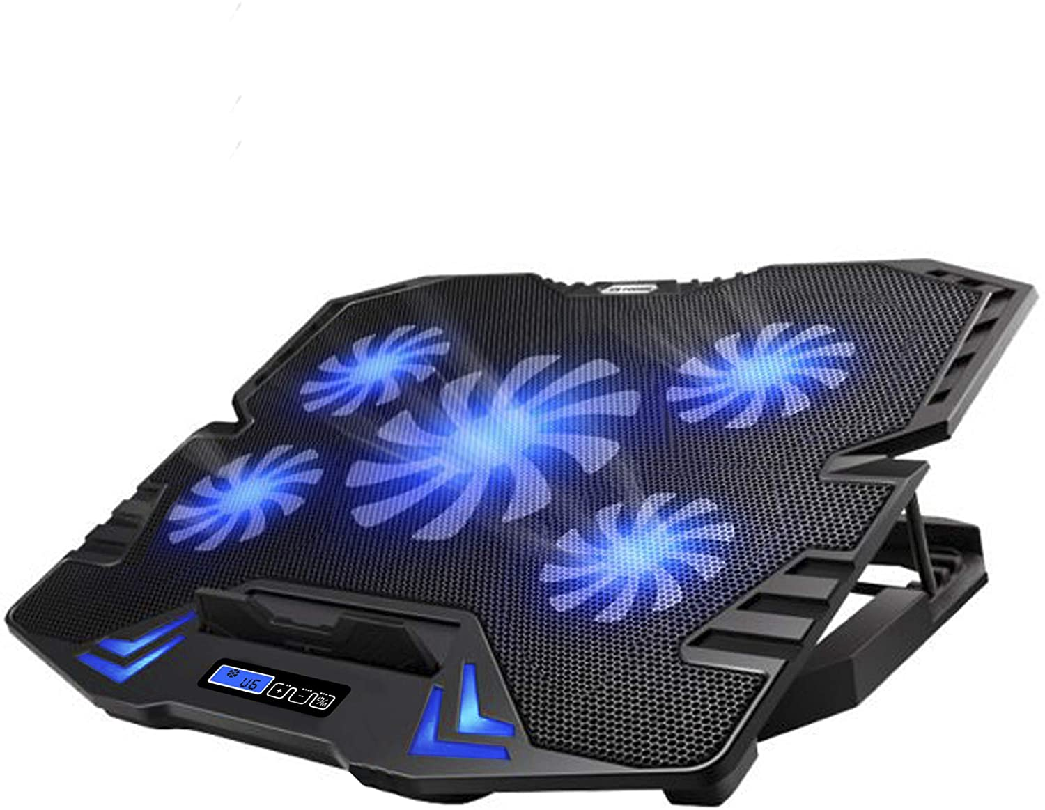 TopMate C5 10 15.6 Inch Gaming Laptop Cooler Cooling Pad