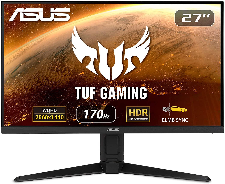<strong>ASUS TUF Gaming 27″ 2K Monitor(VG27AQL1A)</strong>